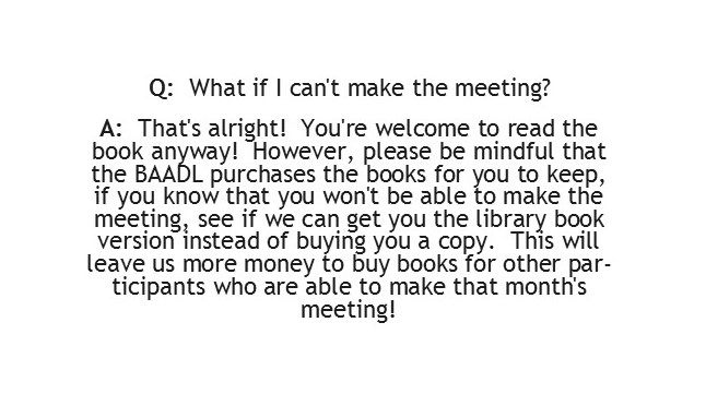 What if I can't make the meeting?