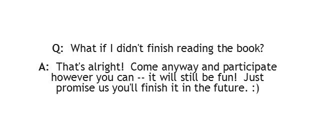 What if I didn't finish reading the book?