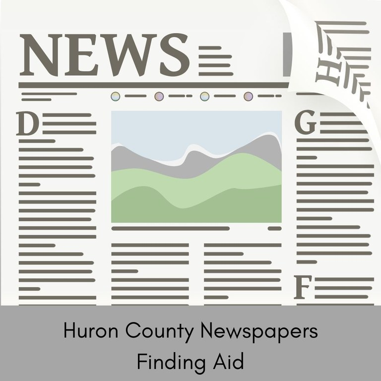 Huron County Newspaper Finding Aid.jpg