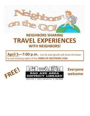 Neighbors on the Go! - Southern Utah