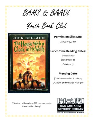 Youth Book Club Meeting