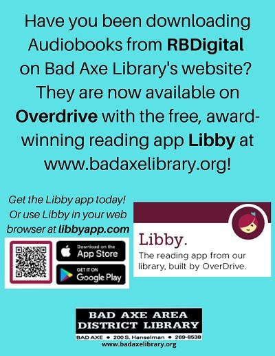 Audiobooks now on Overdrive