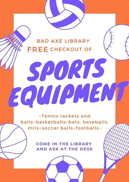 Check out Sports Equipment